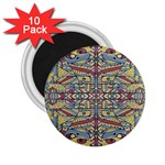 Multicolor Abstract 2.25  Magnets (10 pack)
