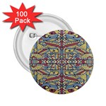 Multicolor Abstract 2.25  Buttons (100 pack)