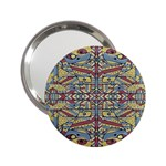 Multicolor Abstract 2.25  Handbag Mirrors