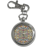 Multicolor Abstract Key Chain Watches
