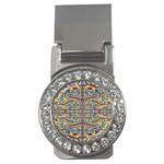 Multicolor Abstract Money Clips (CZ)
