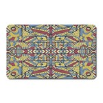 Multicolor Abstract Magnet (Rectangular)
