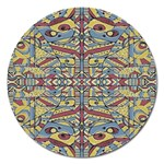 Multicolor Abstract Magnet 5  (Round)