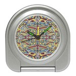 Multicolor Abstract Travel Alarm Clocks