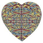 Multicolor Abstract Jigsaw Puzzle (Heart)