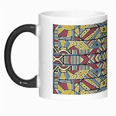 Multicolor Abstract Morph Mugs by dflcprintsclothing