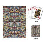 Multicolor Abstract Playing Card