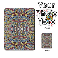 Multicolor Abstract Multi Purpose Cards (rectangle)