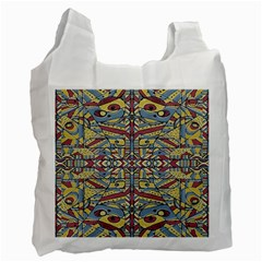 Multicolor Abstract Recycle Bag (two Side)