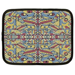 Multicolor Abstract Netbook Case (xxl)  by dflcprintsclothing