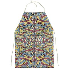 Multicolor Abstract Full Print Aprons