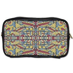 Multicolor Abstract Toiletries Bags