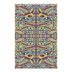 Multicolor Abstract Shower Curtain 48  x 72  (Small)  by dflcprintsclothing