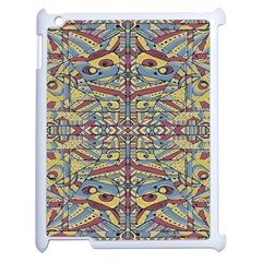 Multicolor Abstract Apple Ipad 2 Case (white)