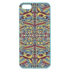 Multicolor Abstract Apple Seamless Iphone 5 Case (color)