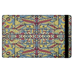 Multicolor Abstract Apple Ipad 3/4 Flip Case by dflcprintsclothing