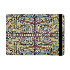 Multicolor Abstract Apple Ipad Mini Flip Case by dflcprintsclothing