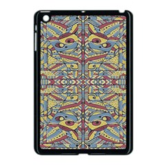 Multicolor Abstract Apple Ipad Mini Case (black)