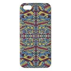Multicolor Abstract Apple Iphone 5 Premium Hardshell Case by dflcprintsclothing