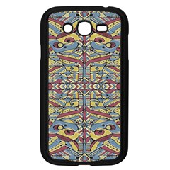 Multicolor Abstract Samsung Galaxy Grand Duos I9082 Case (black)