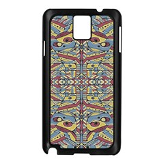 Multicolor Abstract Samsung Galaxy Note 3 N9005 Case (black) by dflcprintsclothing