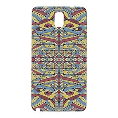 Multicolor Abstract Samsung Galaxy Note 3 N9005 Hardshell Back Case by dflcprintsclothing