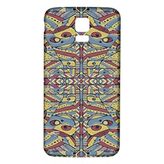 Multicolor Abstract Samsung Galaxy S5 Back Case (white) by dflcprintsclothing