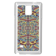 Multicolor Abstract Samsung Galaxy Note 4 Case (white) by dflcprintsclothing