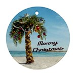 PalmChristmas - Ornament (Round)