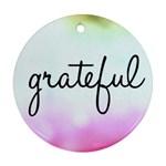 Gratefulpastel - Ornament (Round)