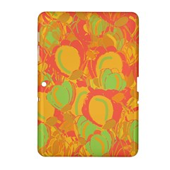 Orange Garden Samsung Galaxy Tab 2 (10 1 ) P5100 Hardshell Case  by Valentinaart