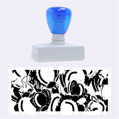 Blue Garden Rubber Stamps (large)