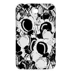 Black And White Garden Samsung Galaxy Tab 3 (7 ) P3200 Hardshell Case  by Valentinaart