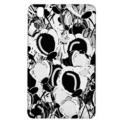 Black And White Garden Samsung Galaxy Tab Pro 8 4 Hardshell Case by Valentinaart