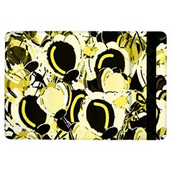 Yellow Abstract Garden Ipad Air Flip by Valentinaart