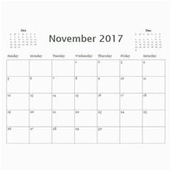 Barton Calendar 2017 By Jason   Wall Calendar 11  X 8 5  (12 Months)   80niawmnl401   Www Artscow Com Nov 2017