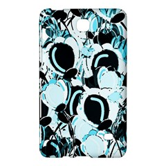 Blue abstract  garden Samsung Galaxy Tab 4 (8 ) Hardshell Case  by Valentinaart