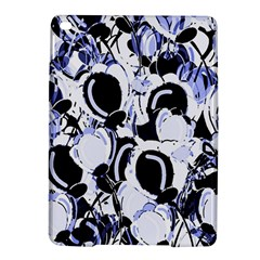 Blue Abstract Floral Design Ipad Air 2 Hardshell Cases by Valentinaart