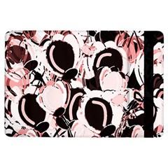 Pink Abstract Garden Ipad Air Flip by Valentinaart