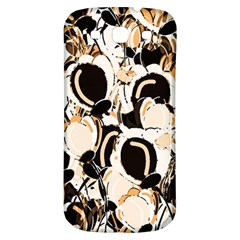 Orange Abstract Garden Samsung Galaxy S3 S Iii Classic Hardshell Back Case by Valentinaart