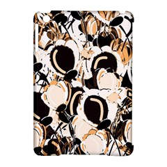 Orange Abstract Garden Apple Ipad Mini Hardshell Case (compatible With Smart Cover) by Valentinaart