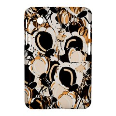 Orange Abstract Garden Samsung Galaxy Tab 2 (7 ) P3100 Hardshell Case  by Valentinaart