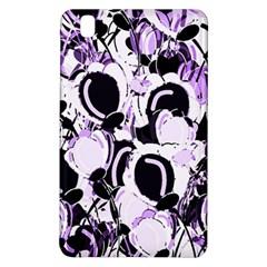 Purple Abstract Garden Samsung Galaxy Tab Pro 8 4 Hardshell Case by Valentinaart
