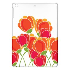 Orange Flowers  Ipad Air Hardshell Cases by Valentinaart