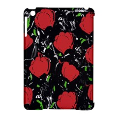 Red Roses Apple Ipad Mini Hardshell Case (compatible With Smart Cover) by Valentinaart