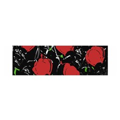 Red Roses Satin Scarf (oblong) by Valentinaart