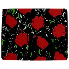 Red Roses Jigsaw Puzzle Photo Stand (rectangular) by Valentinaart