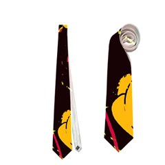 Yellow Roses  Neckties (one Side)