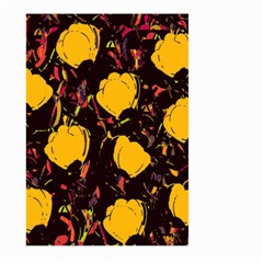 Yellow Roses  Large Garden Flag (two Sides) by Valentinaart