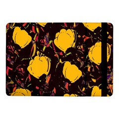 Yellow Roses  Samsung Galaxy Tab Pro 10 1  Flip Case by Valentinaart